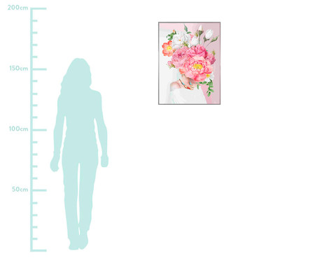 Woman In Flower lll 101x76 -  Alexandre Venâncio | WestwingNow