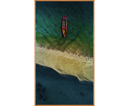 Quadro Estilo Mar 138x78 -  Reinaldo Giarola | WestwingNow