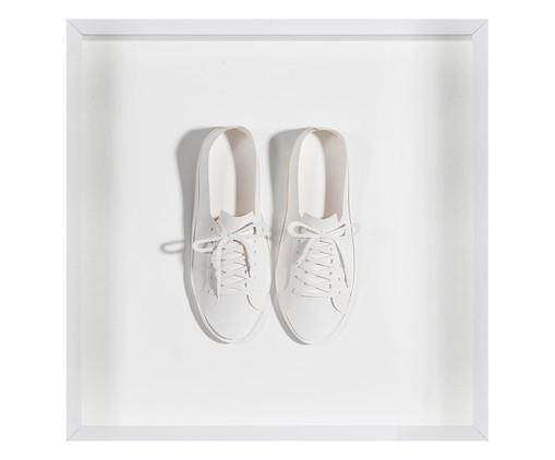 Quadro Estilo Sapatos 31x31 -  Leila Nishi, colorido | WestwingNow