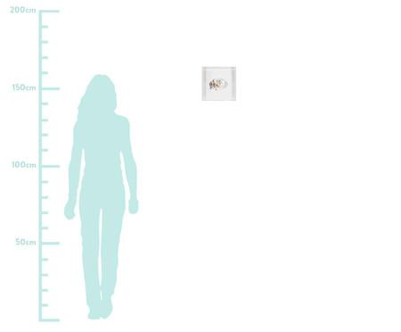 Quadro Estilo Chapéu 31x31 -  Leila Nishi | WestwingNow