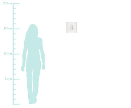 Quadro Estilo Ismet 31x31 -  Leila Nishi | WestwingNow