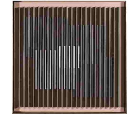 Quadro Linha Hide l 60x60 -  Bar Design | WestwingNow
