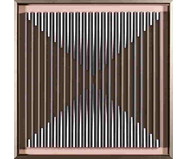 Quadro Linha Hide lll 60x60 -  Bar Design   WestwingNow