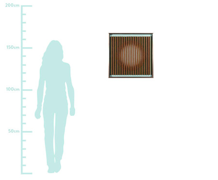 Quadro Linha Hide Vl 60x60 -  Bar Design | WestwingNow