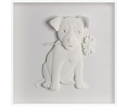 Quadro Estilo Dog 31x31 -  Leila Nishi | WestwingNow