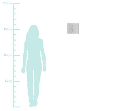 Quadro Estilo Violoncelo 31x31 -  Leila Nishi | WestwingNow