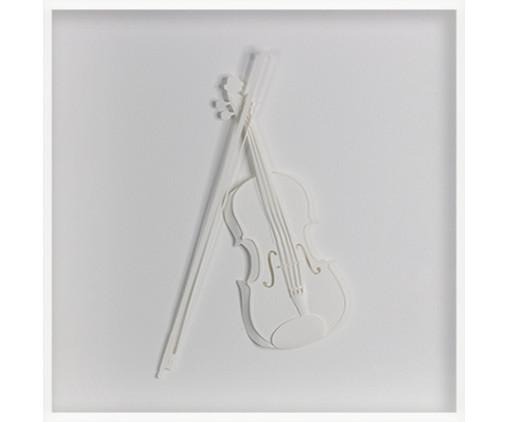 Quadro Estilo Violoncelo 31x31 -  Leila Nishi, colorido | WestwingNow