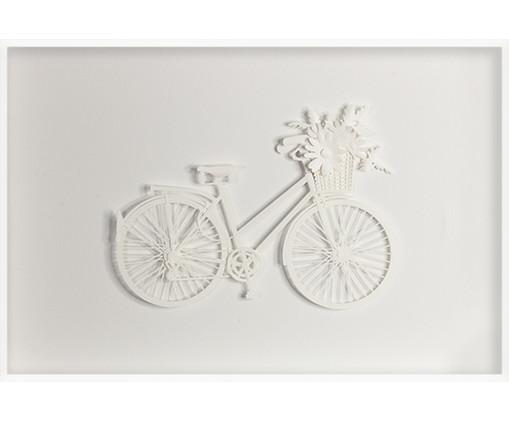 Quadro Estilo Bicicleta 46x31 -  Leila Nishi, colorido | WestwingNow