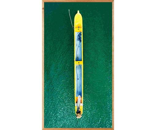 Quadro Caiaque lll 113x63 -  Reinaldo Giarola, colorido   WestwingNow
