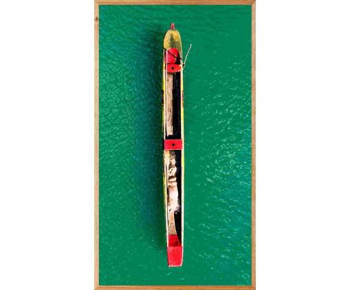 Quadro Caiaque ll 113x63 -  Reinaldo Giarola, colorido | WestwingNow