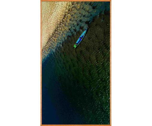 Quadro Caiaque lV 138x78 -  Reinaldo Giarola, colorido | WestwingNow