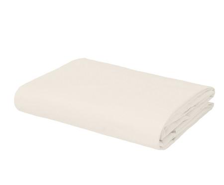 Lençol Inferior com Elástico Basic Off White - 200 Fios | WestwingNow