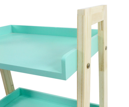 Mesa Lateral Mia - Verde Celadon | WestwingNow