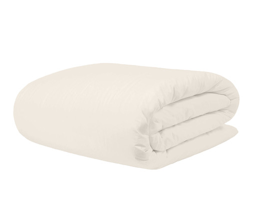 Duvet Basic Off White - 200 Fios, Off White | WestwingNow