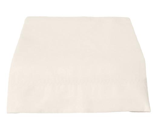 Lençol Superior Basic Off White - 200 Fios, Off White | WestwingNow