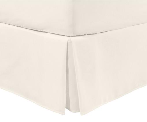 Saia para Cama Box com Babado Basic Off White - 200 Fios, Off White | WestwingNow