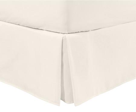 Saia para Cama Box com Babado Basic Off White - 200 Fios | WestwingNow