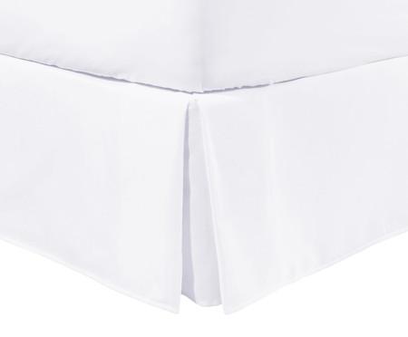 Saia para Cama Box com Babado Basic Branco - 200 Fios | WestwingNow