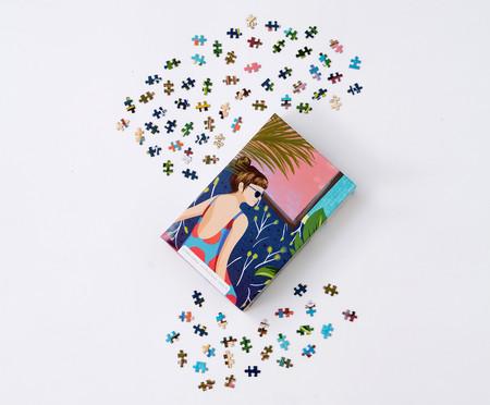 Jogo Quebra-Cabeça Nano Girl - 500 Peças   WestwingNow