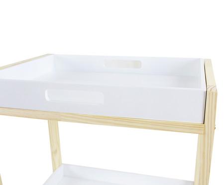Carrinho Organizador Lars Branco - 50x80cm | WestwingNow