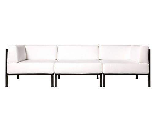 Sofá de Alumínio Aracaê - Branco, Branco | WestwingNow