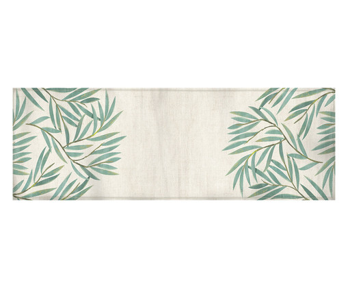 Caminho de Mesa em Vic -  Off White e Verde, Colorido   WestwingNow