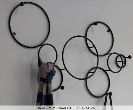 Cabideiro Esferas - Preto | WestwingNow