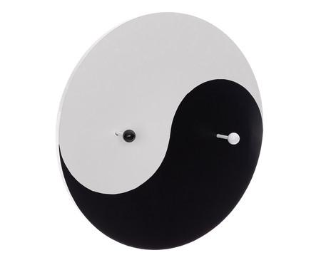Cabideiro Yin Yang - Preto e Branco | WestwingNow