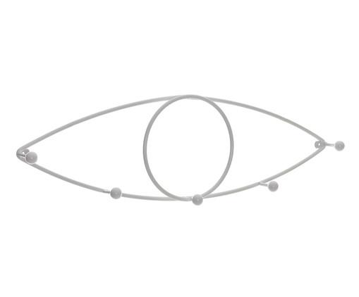 Cabideiro Olho IV - Branco, BRANCO,BRANCO | WestwingNow
