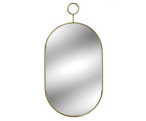 Espelho Caesar  Indy - Dourado, Dourado   WestwingNow
