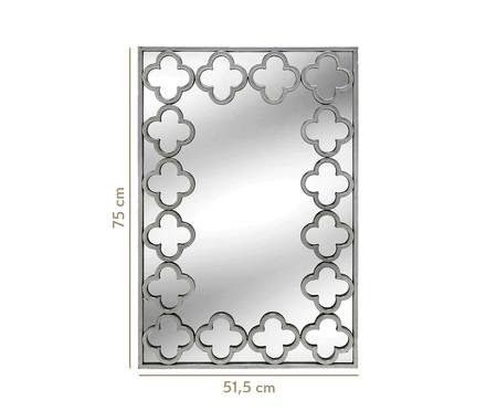 Espelho de Parede Kevelaer Lisa - Espelhado e Prata | WestwingNow