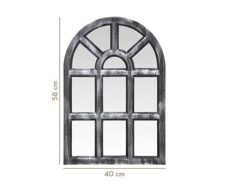 Espelho de Parede Decorativo  Gael - Prata Velho | WestwingNow