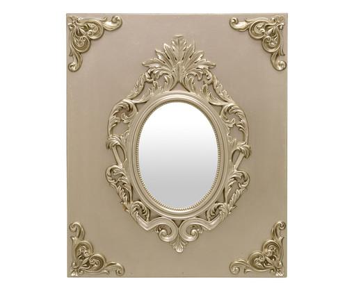 Espelho Miss Round Eddy - Dourado, Dourado | WestwingNow