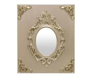 Espelho Miss Round Eddy - Dourado | WestwingNow