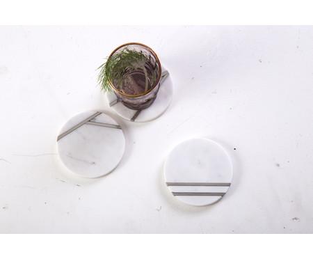 Jogo Porta-copos Marmor 3 Peças | WestwingNow
