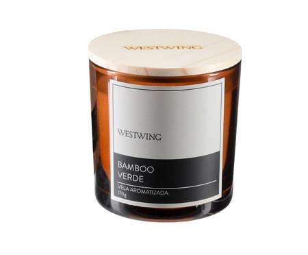Vela Perfumada Bamboo Verde - 170G | WestwingNow