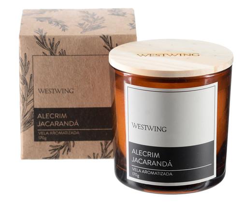 Vela Perfumada Alecrim Jacaranda - 170G, colorido | WestwingNow