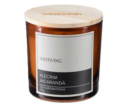 Vela Perfumada Alecrim Jacaranda - 170G | WestwingNow