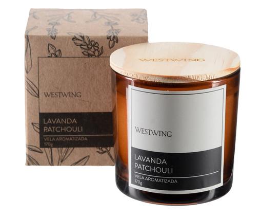 Vela Perfumada Lavanda Patchouli - 170G, colorido | WestwingNow