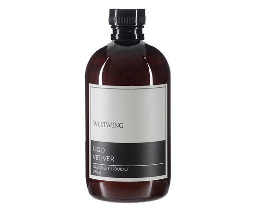 Refil Sabonete Líquido Figo Vetiver - 250ml, colorido | WestwingNow