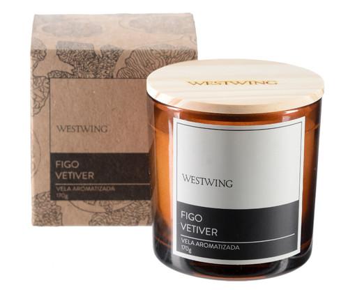 Vela Perfumada Figo Vetiver - 170G, colorido | WestwingNow