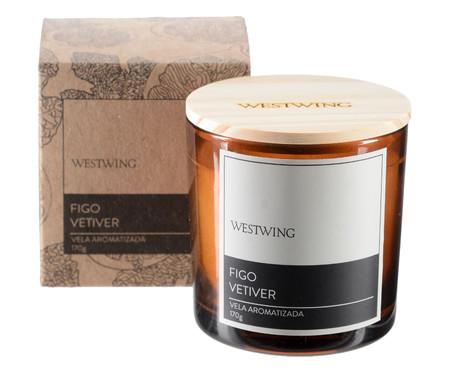 Vela Perfumada Figo Vetiver - 170G | WestwingNow