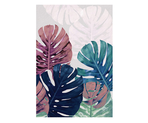 Placa de Madeira Estampada Isabella, Colorido | WestwingNow