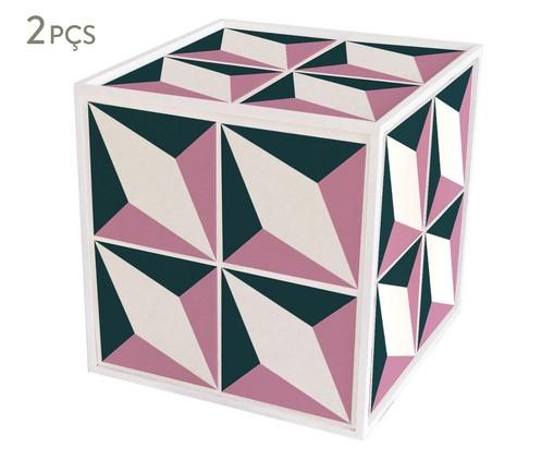 Conjunto de Mini Mesas Laterais Andorinha, multicolor | WestwingNow