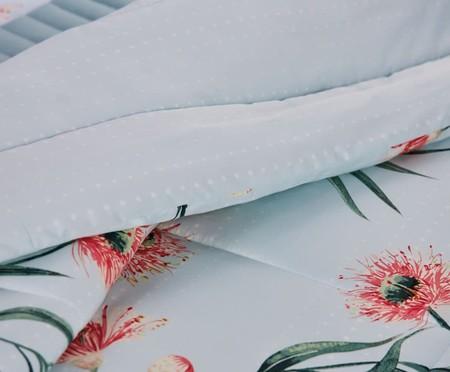 Edredom Buquê Perfumado Turquesa - 200 Fios | WestwingNow