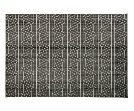 Tapete Geométrico Carter Noah - Cinza e Marfim | WestwingNow