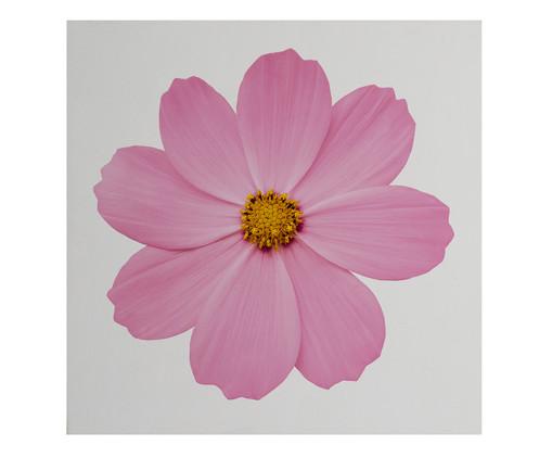 Placa de Madeira Estampada Flor, Colorido | WestwingNow