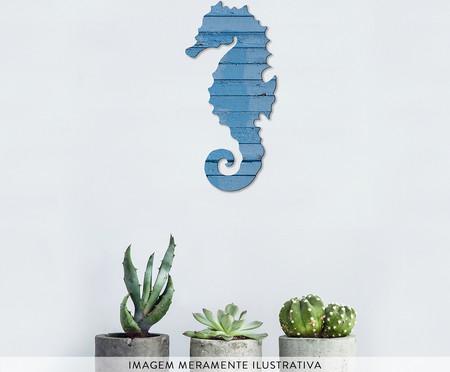 Placa de Madeira Estampada The Seahorse | WestwingNow