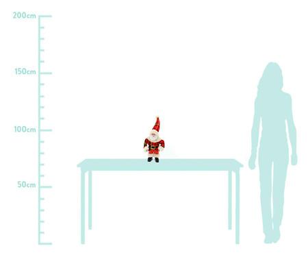 Papai Noel de Pendurar Vermelho -  30X42X20cm   WestwingNow