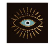 Placa de Madeira Estampada Olho | WestwingNow